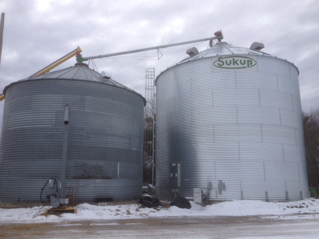 Sukup Grain Bins - Werner Brothers Construction